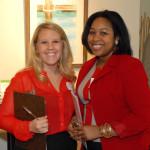 Kristyn Eskridge and Tiffany Lamar
