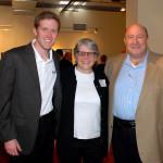 Max Berman, Dr. Pat Garcia and Myles Berman