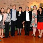 From left to right: Dr. Lynn Yee (fellow), Phyllis Chong, MSW (Social Worker), Dr. Anna Palatnik (fellow), Dr. Emily Miller (fellow), Dr. Sarah Sutton (HIV attending), Dr Pat Garcia ( MFM Attending), Milena McLaughlin, PharmD (pharmacist), Dr. Robin Dorman (psychologist), Brianne Condron, BSN (nurse coordinator).