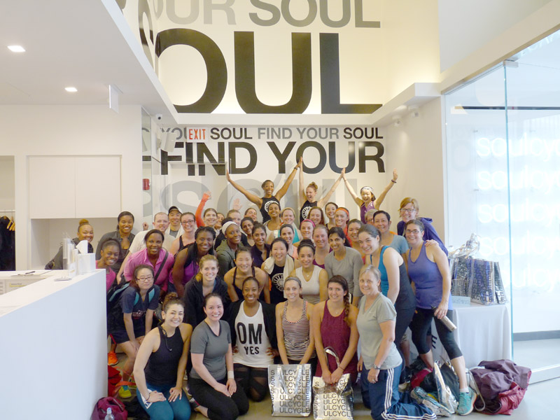 HOPE and SoulCycle Charity Ride